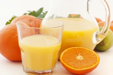 orange juice at home