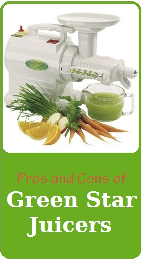 pros and cons of green star juicers